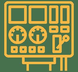 Icône qui représente la section Montage et assemblage de panneaux de contrôle