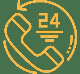 Icône qui représente la section Service d'urgence et dépannage